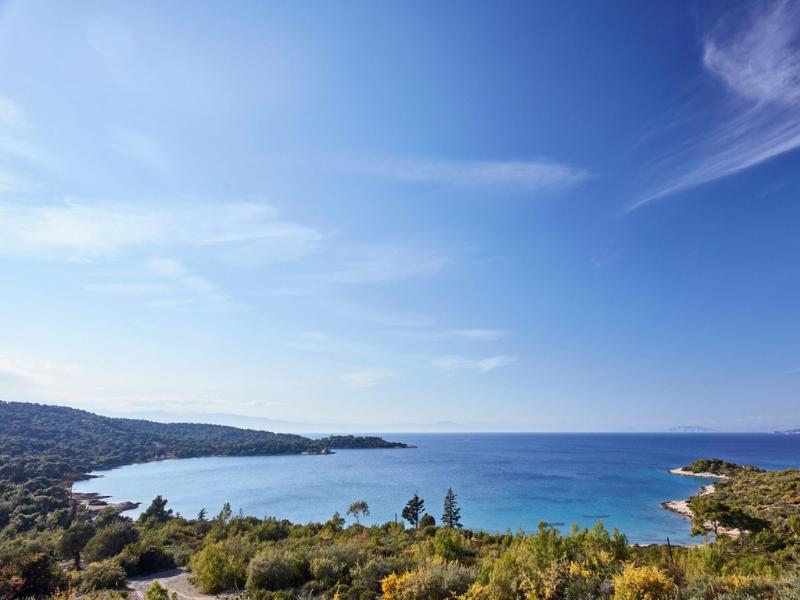 Landscape of Spetses Greece
