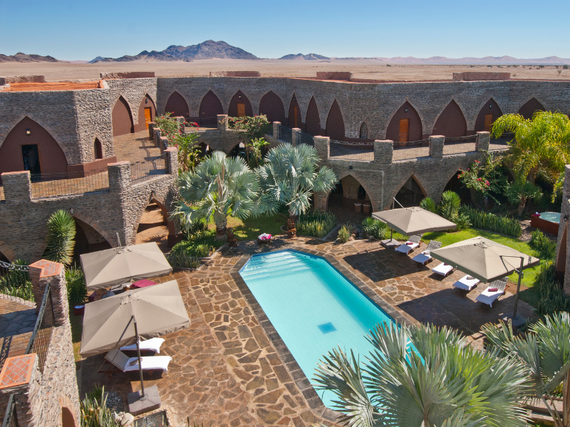 Le Mirage Resort and Spa Sossusvlei Namibia
