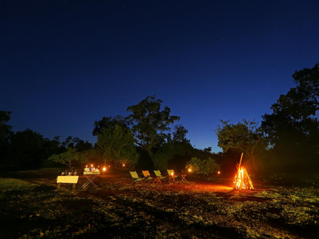 Leopards Trail camp