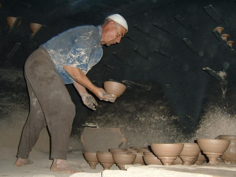 Local man Kashgar Old Town