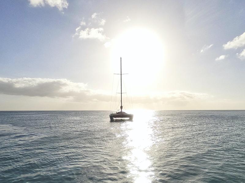 Catamaran, Caribbean