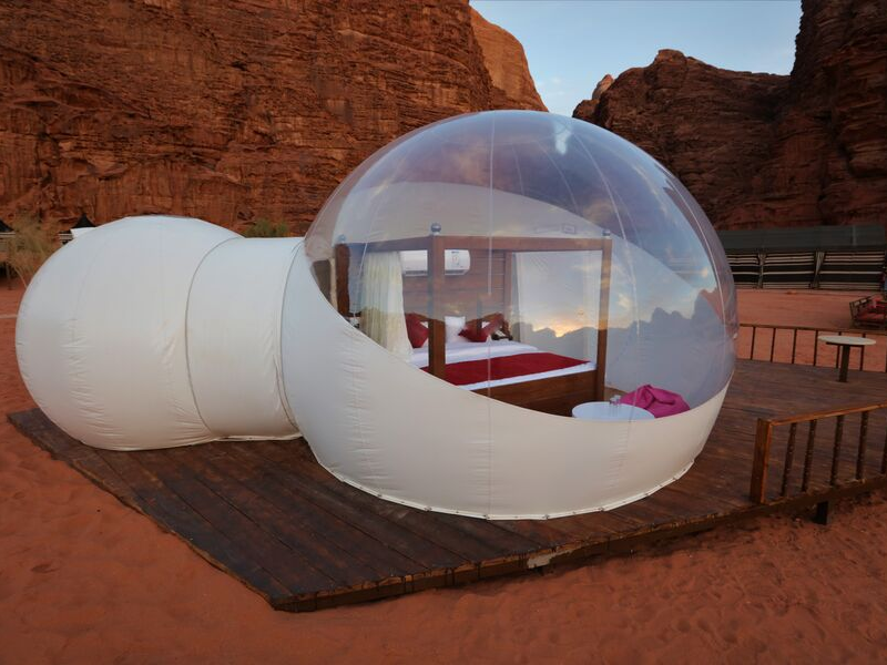 Luxury Private Camping Wadi Rum Jordan