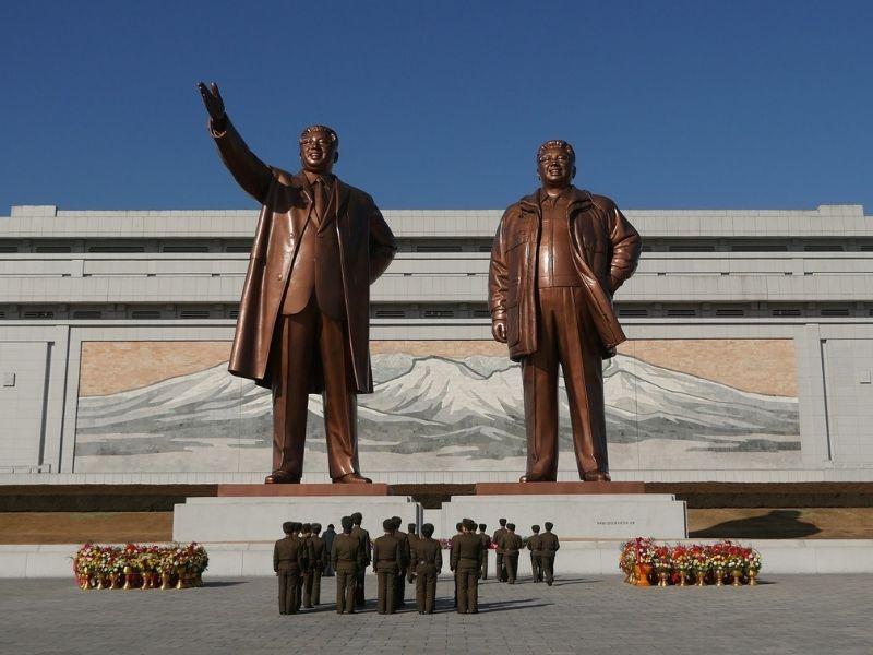 Mansu Hill Grand Monument, Pyongyang