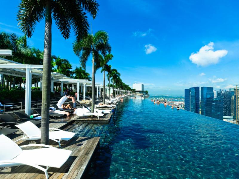 Marina Bay Sands - Infinity Pool