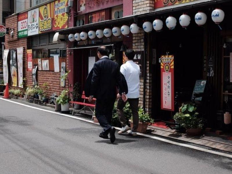 Matsuyama streets, Japan