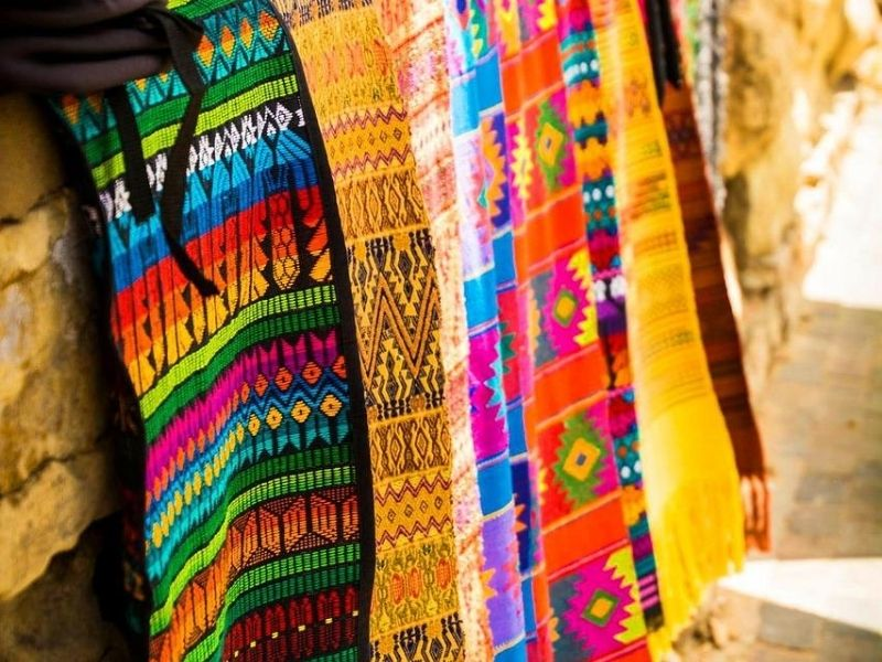 Mexican woven rugs