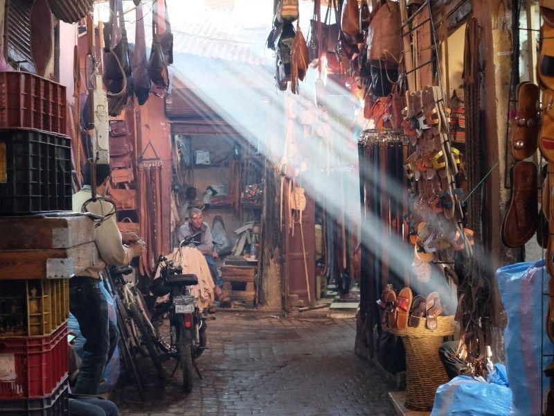 Morocco - Marakech Stalls