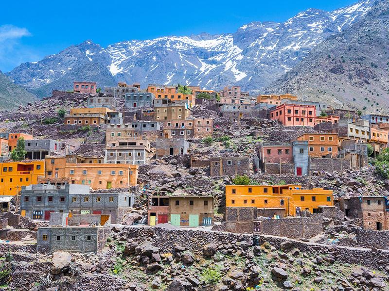 Mountain Village, Morocco
