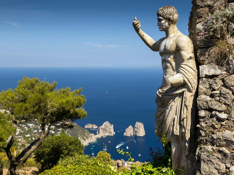 Nearby landmarks Capri