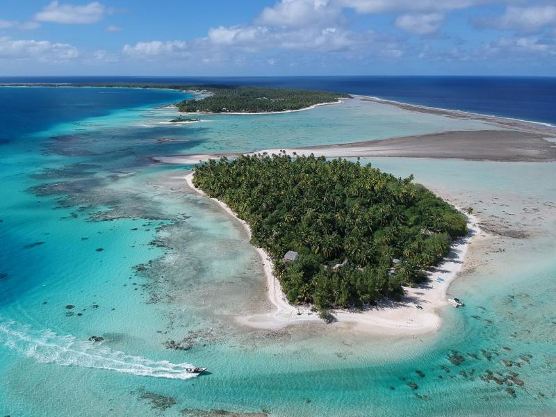 Ninamu Resort in French Polynesia