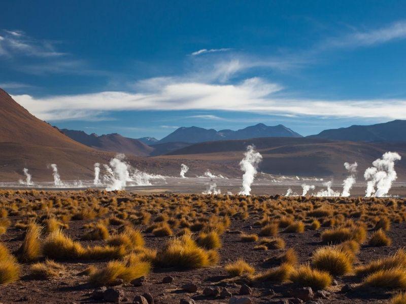 San Pedro de Atacama geysers