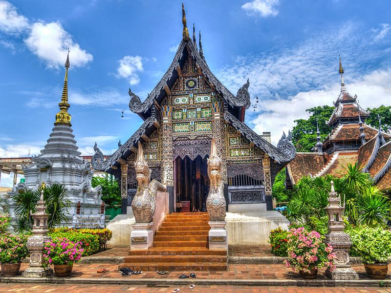 Chaing Mai temple