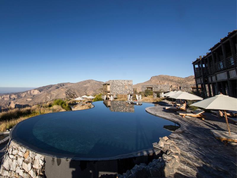 Oman Luxury Resort in Al Hajar Mountain Range