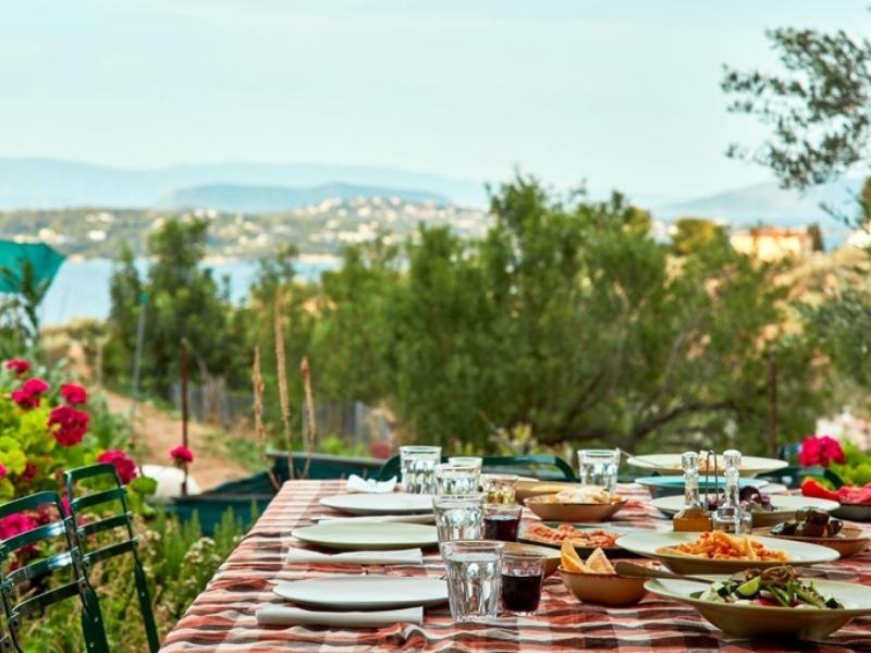 Organic Farm Spetses Greece