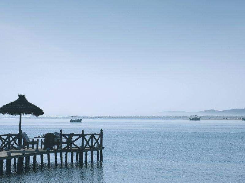 Oualidia lagoon