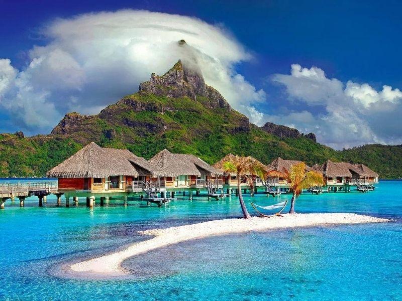 Over-water house, Bora Bora