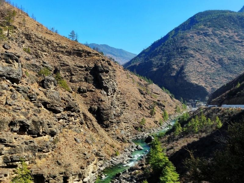 Paro valley, Bhutan