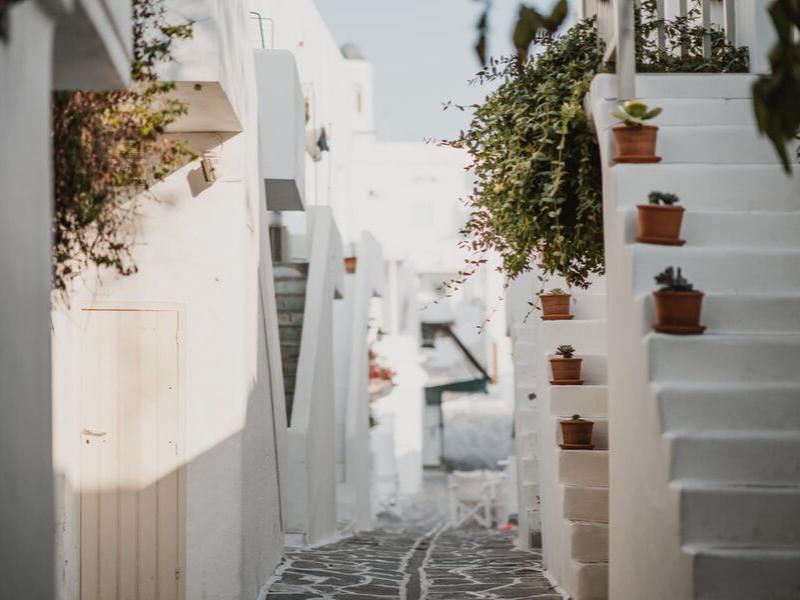 Paros Town Greece