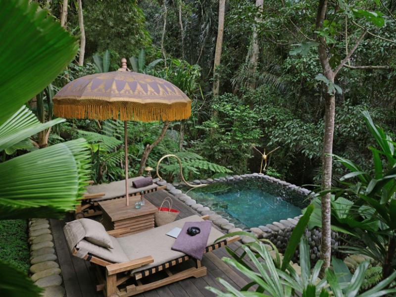 Private Luxury Tent Capella Ubud Bali Indonesia