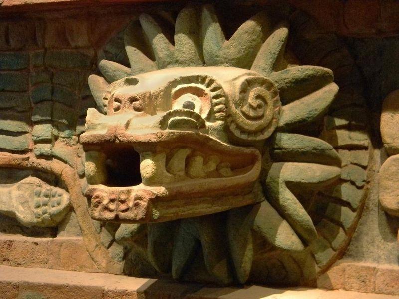 Quetzalcoatl, Cholula Mexico