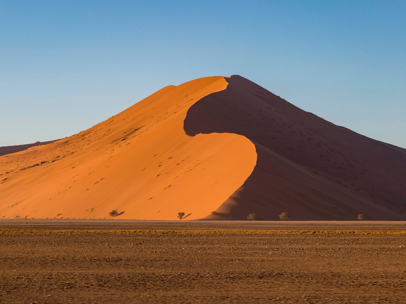Red Dunes of Sossusvlei Namibia