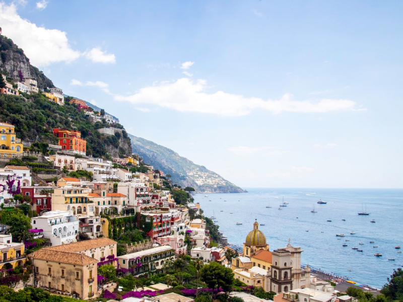 Road trip through the Amalfi Coast from Sorrento