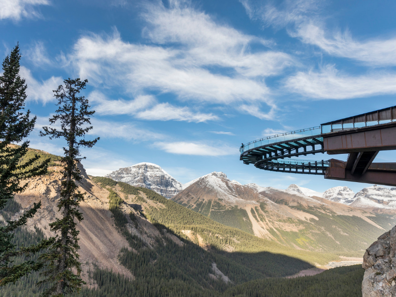 Rocky Mountaineer - Glacier Skywalk