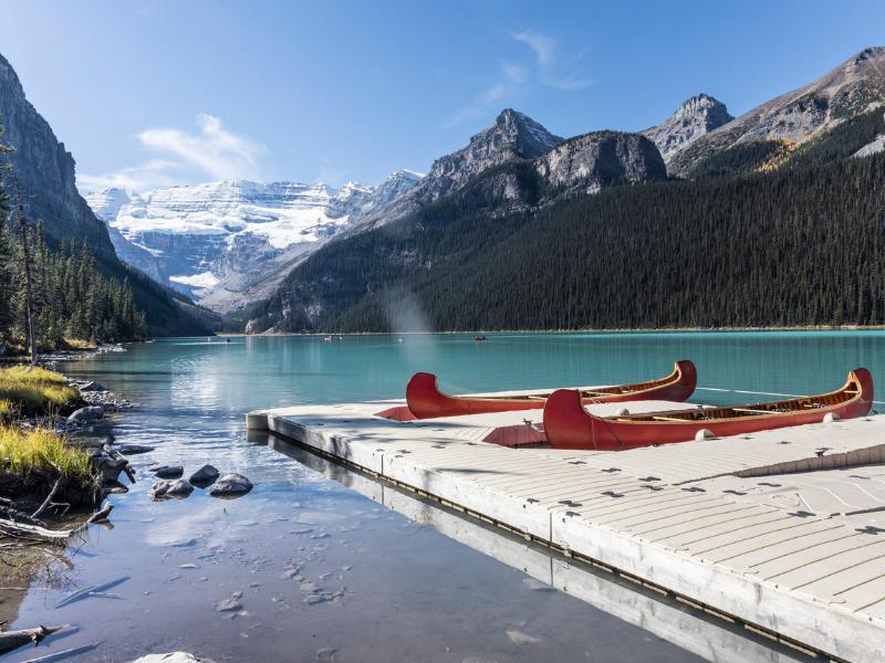 Rocky Mountaineer - Lake Louise
