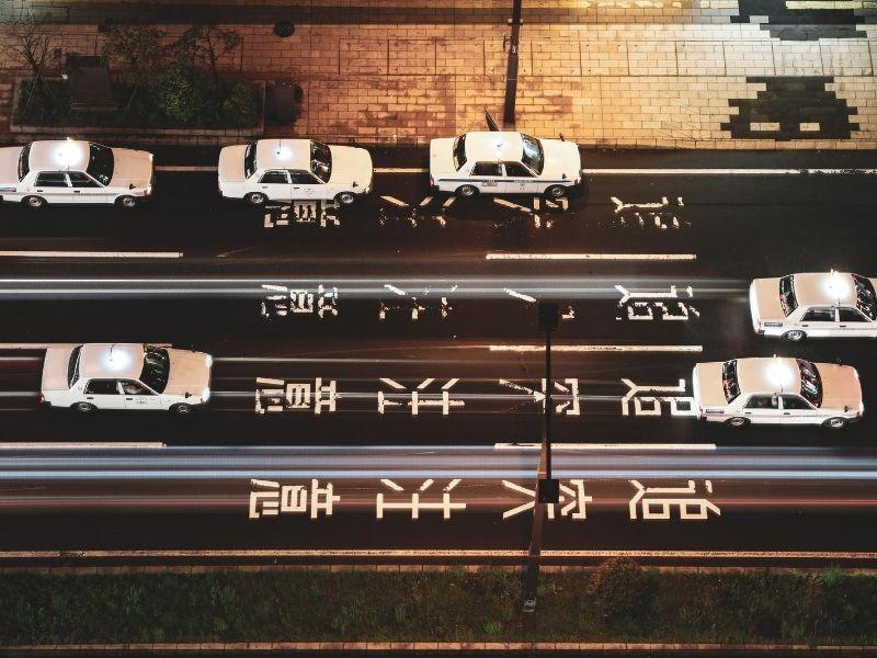 Sapporo taxis
