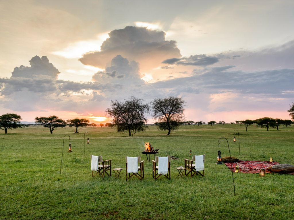 Serengeti at sundown