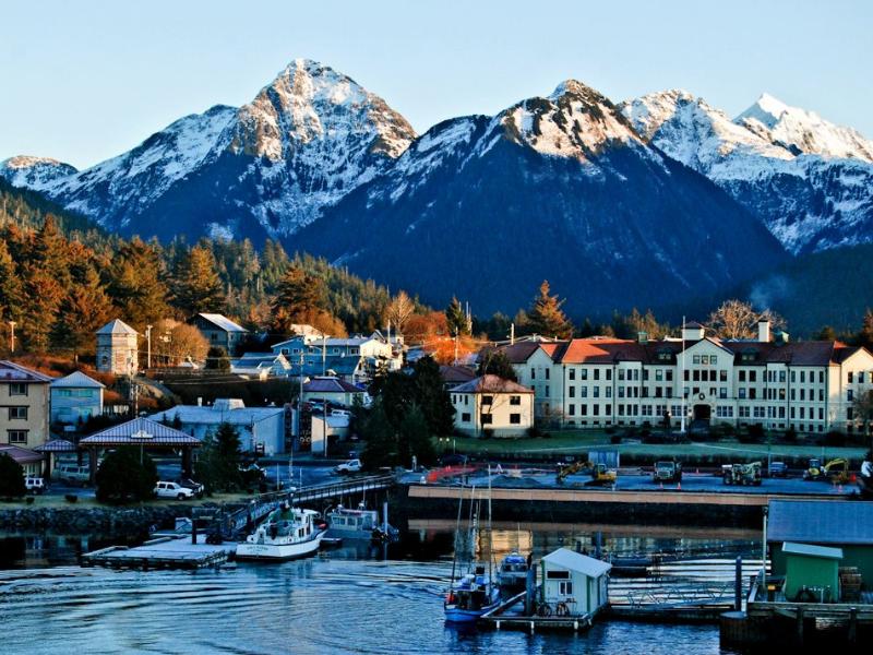 Seward City Alaskan Cruise
