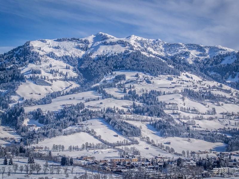 Ski Slopes Kitzbuhel Austria