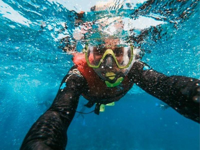 Snorkelling, aha'a