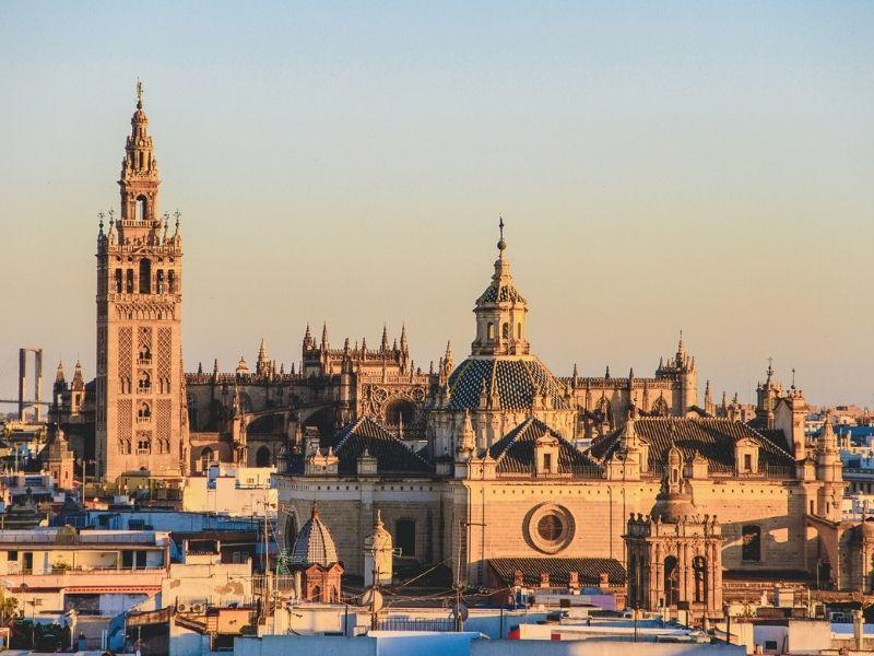 Spain - Seville Cityscape