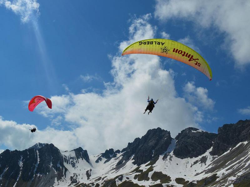 St Anton Paragliding