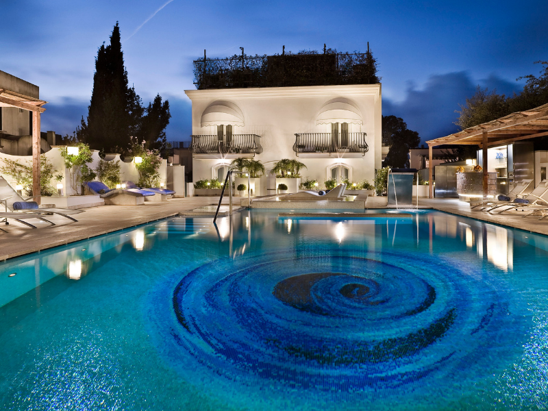 Stay in Villa Melia Capri