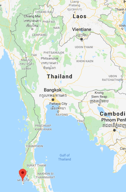 Thailand and Phuket