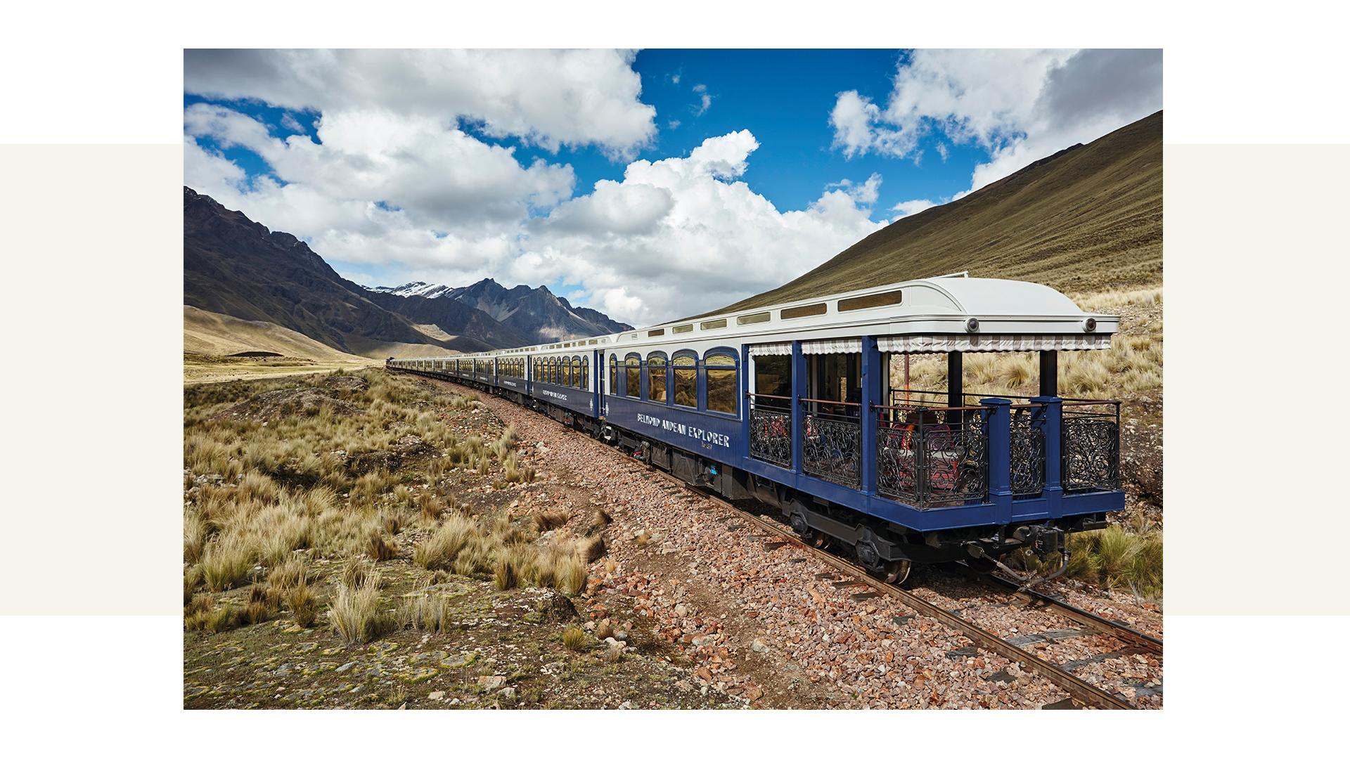 The Belmond Andean Explorer