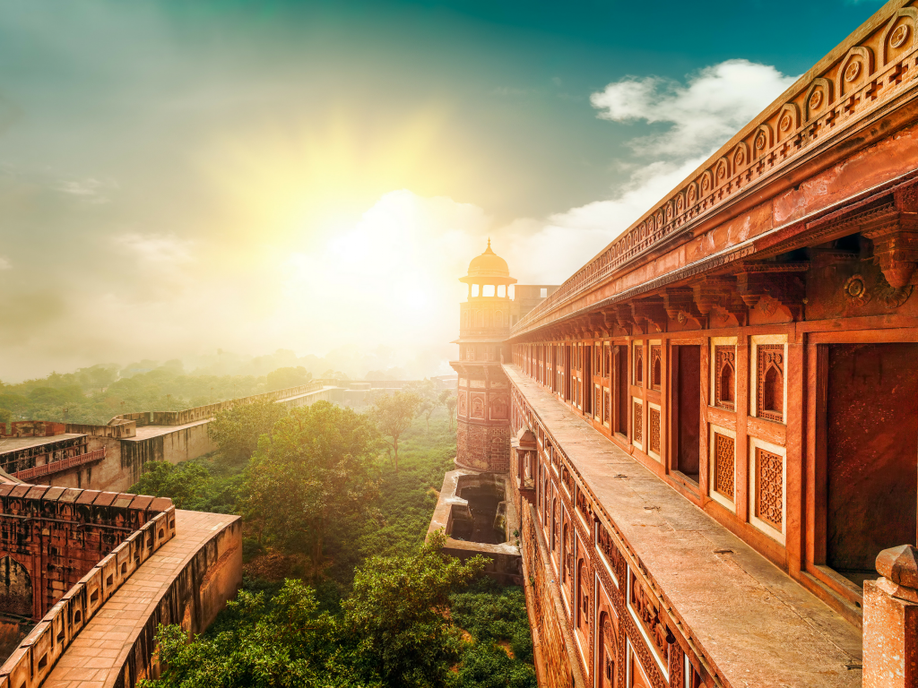 Agra Fort is one of the finest Mughal forts in India and its walls stand defiant against time.