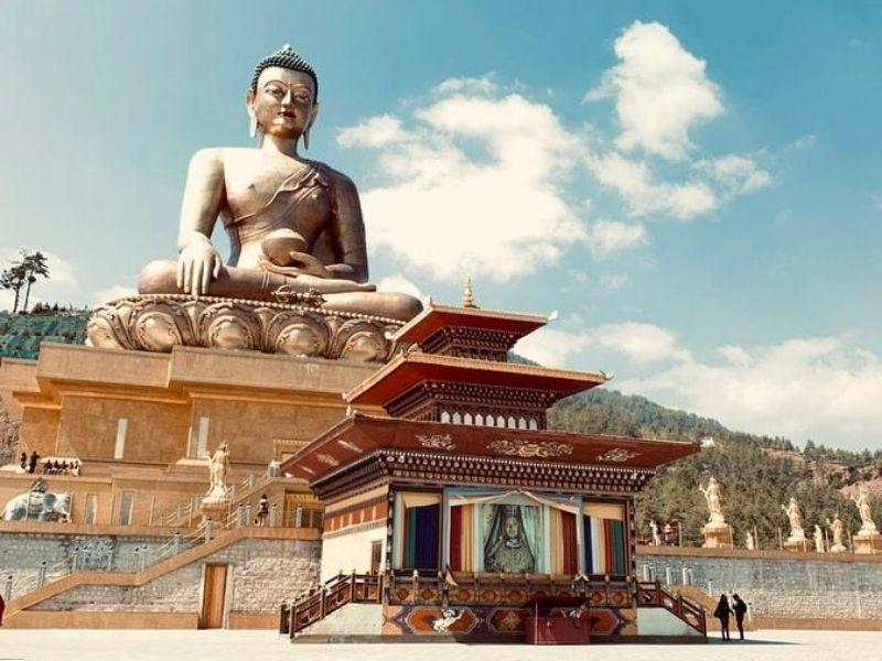 Thimphu - Budha Statue, Bhutan
