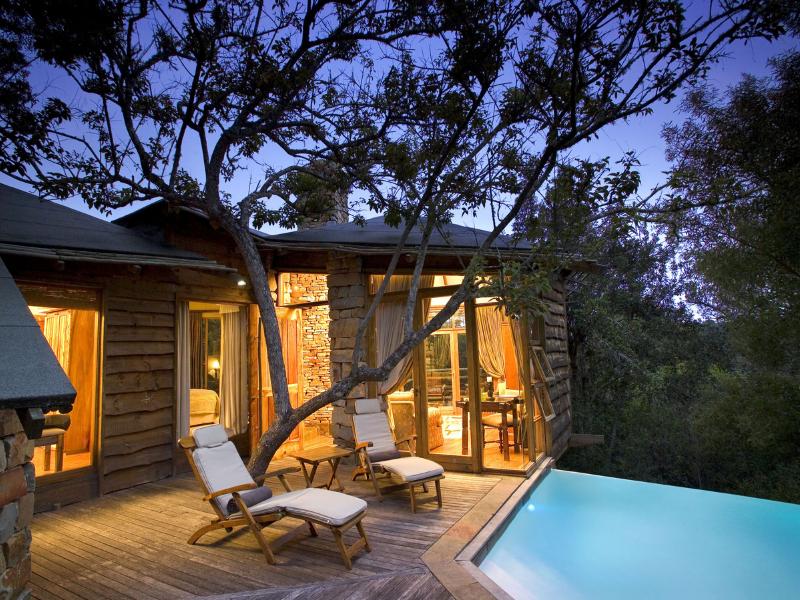 Tsala Treetop Lodge South AFrica Pool