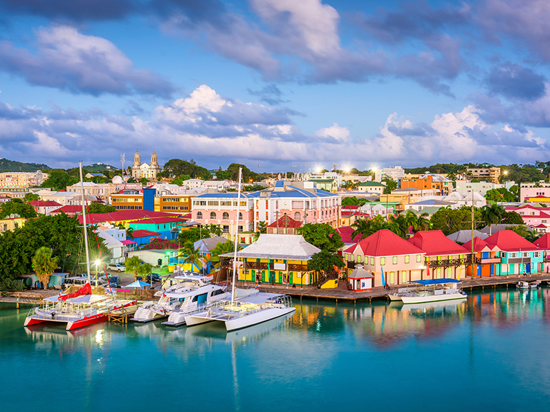 St John's Port, Antigua