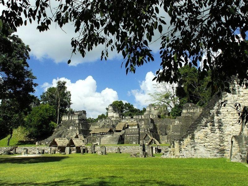 Uaxactun ruins, Guatemala