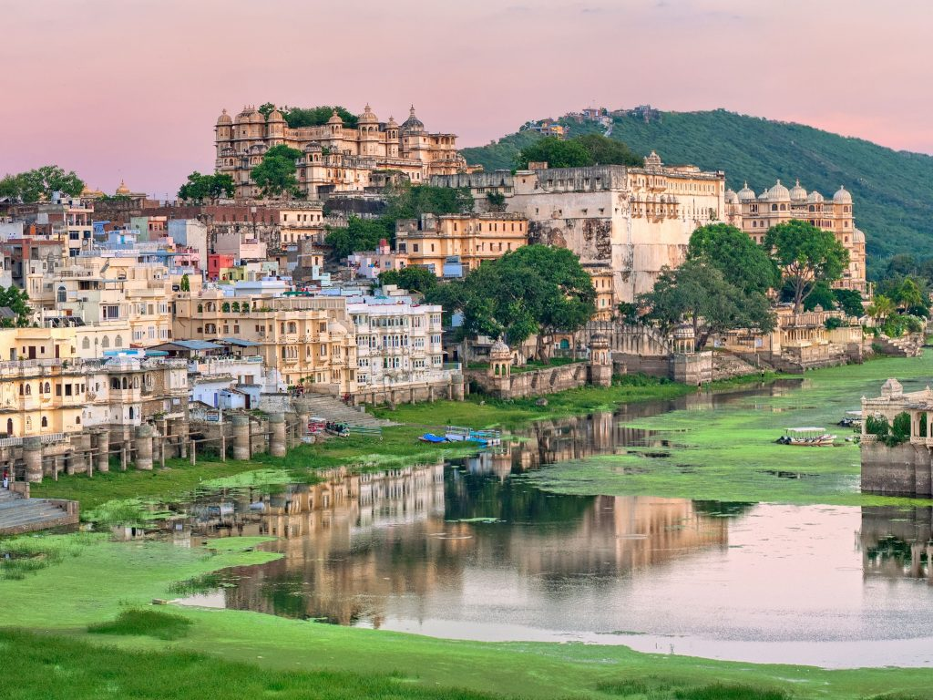 Udaipur Town is one of colour and character and is sometimes called the