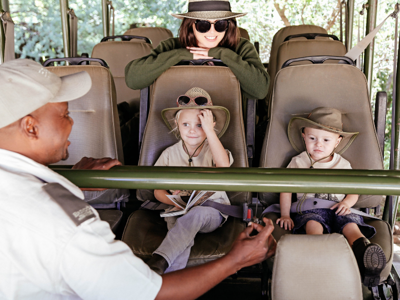 Under 6's Safari Erindi Private Game Reserve Namibia