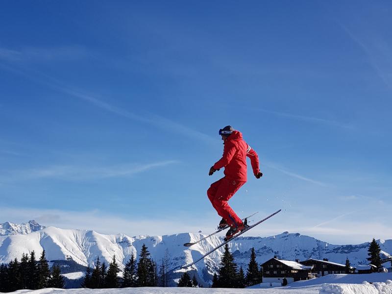 Skier Megeve