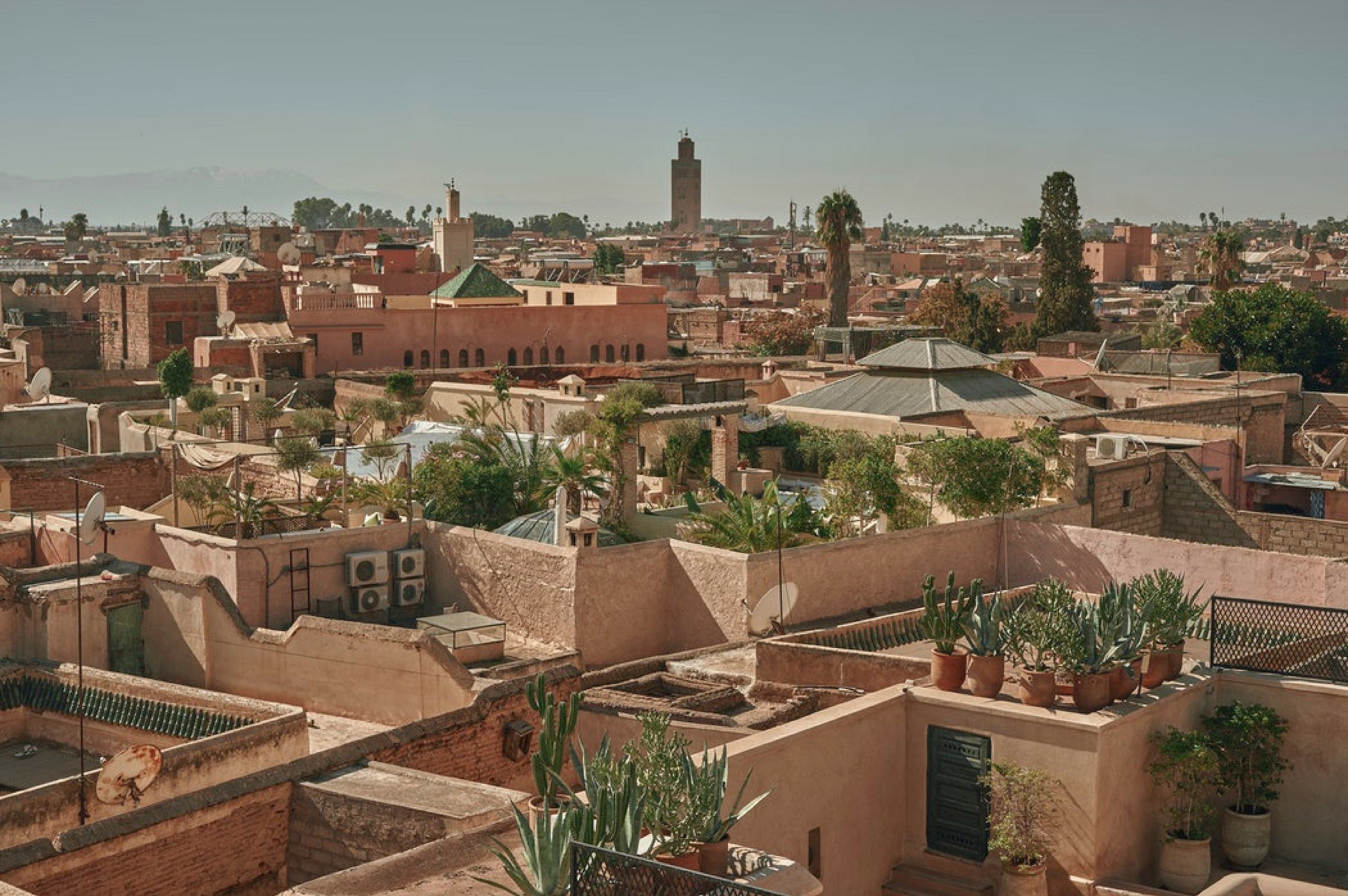 Take a tour through the Medina and visit historical sites of Marrakech