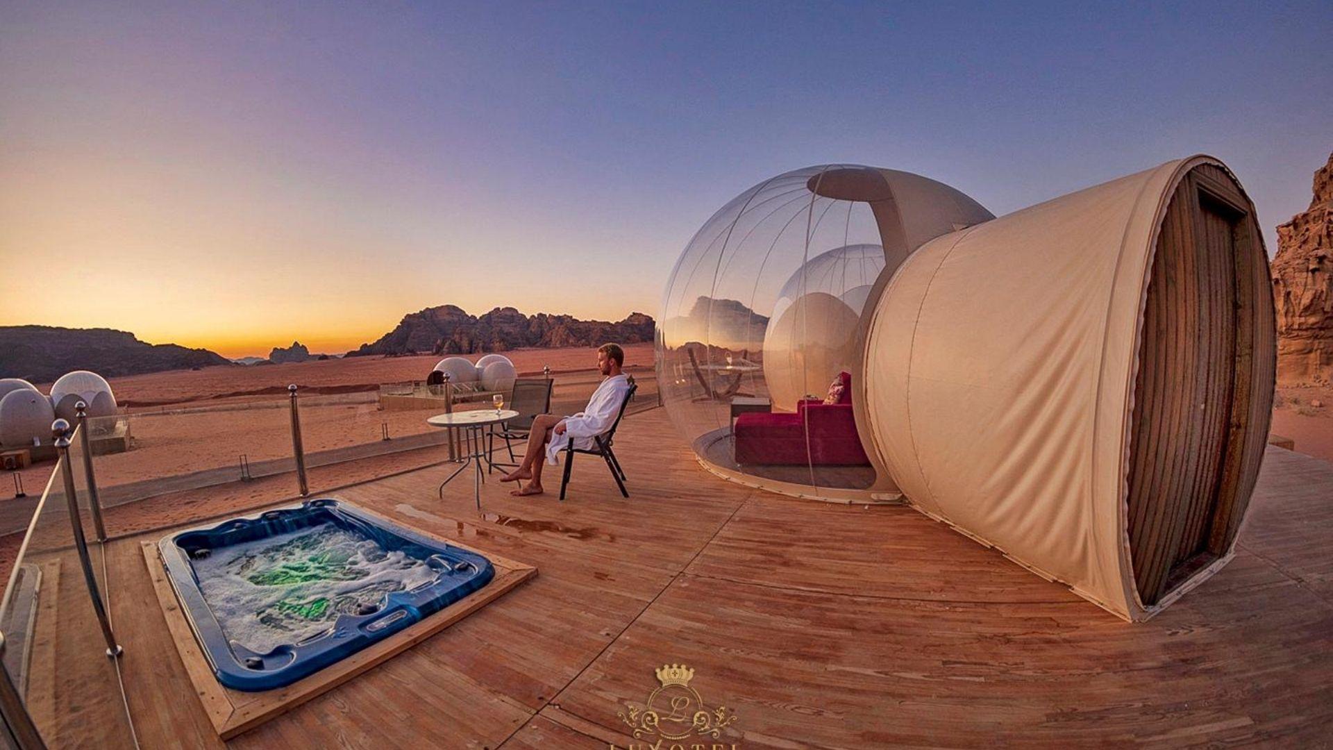 Wadi Rum UFO Luxotel 4