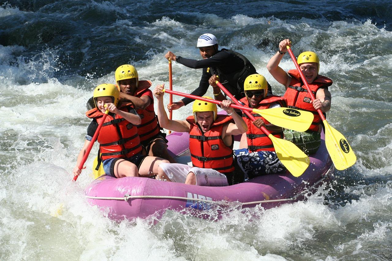 White-water rafting, Japan