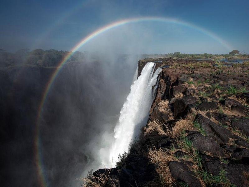 Victoria Falls Zambia side